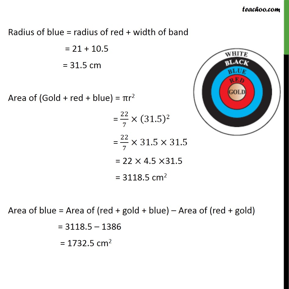 Ex 12.1, 3 - Chapter 12 Class 10 Areas related to Circles - Part 3