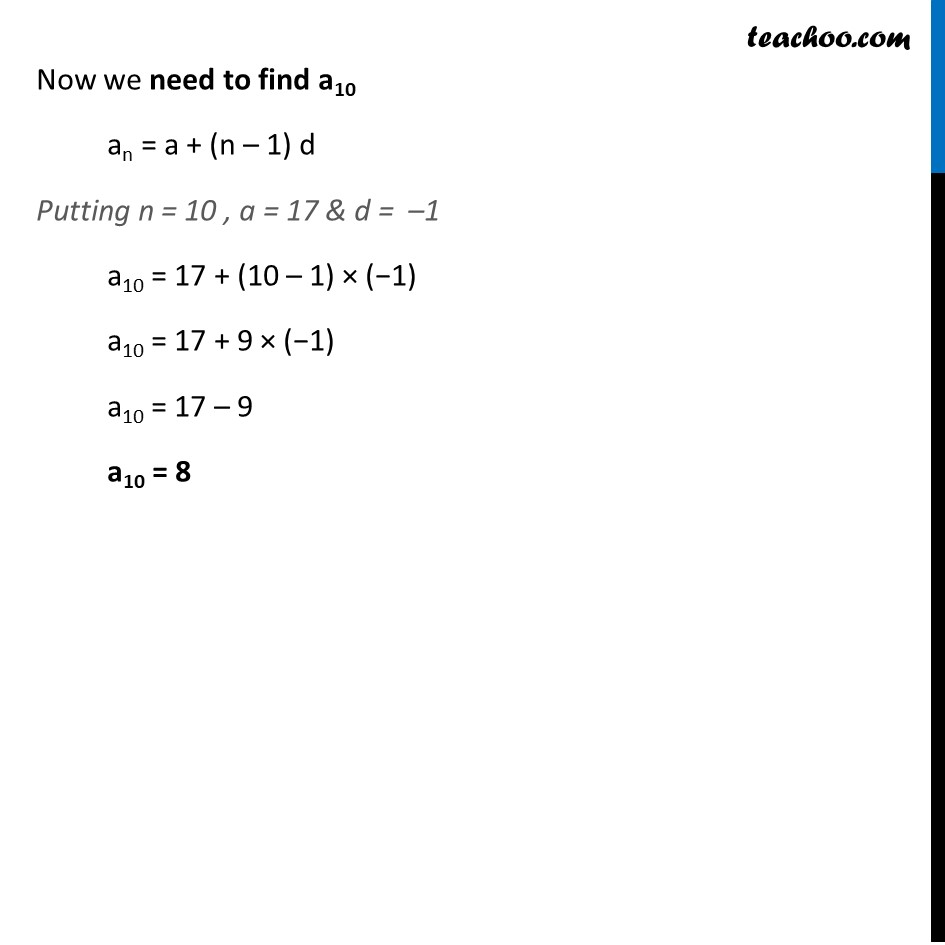 Ex 5.3, 3 - Chapter 5 Class 10 Arithmetic Progressions - Part 9