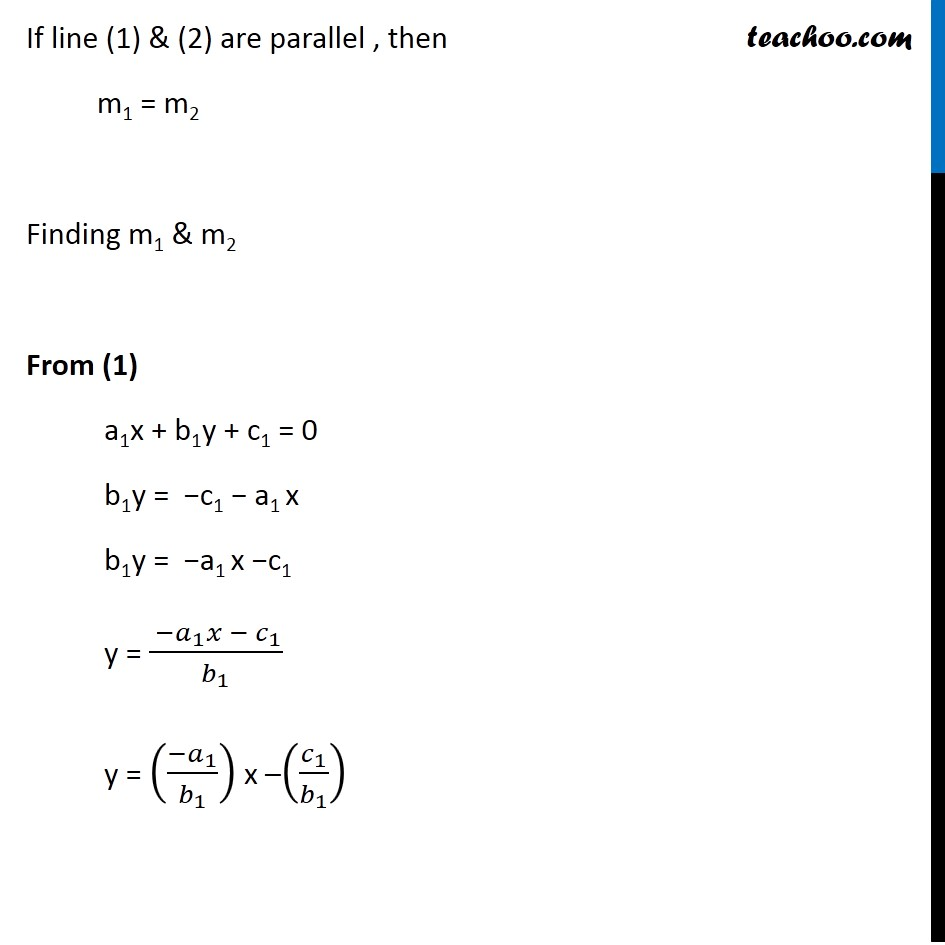 Example 16 - Chapter 10 Class 11 Straight Lines - Part 2