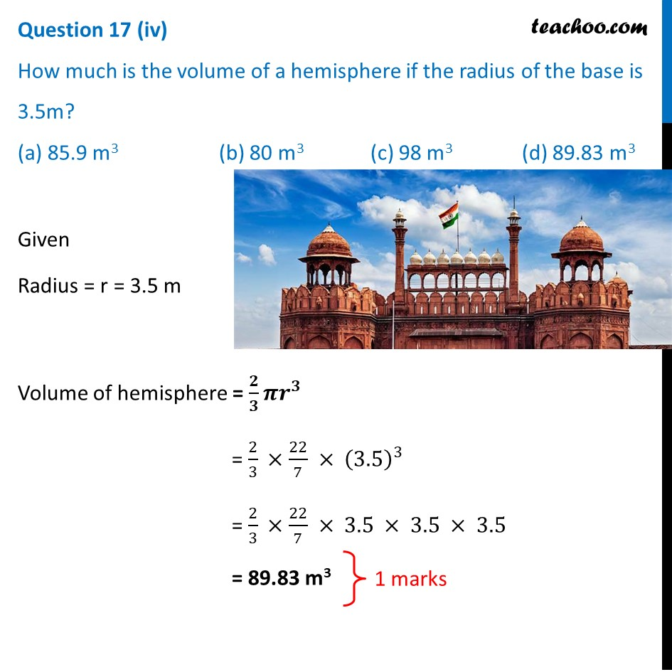 Question 17 - CBSE Class 10 Sample Paper for 2021 Boards - Maths Basic - Part 5