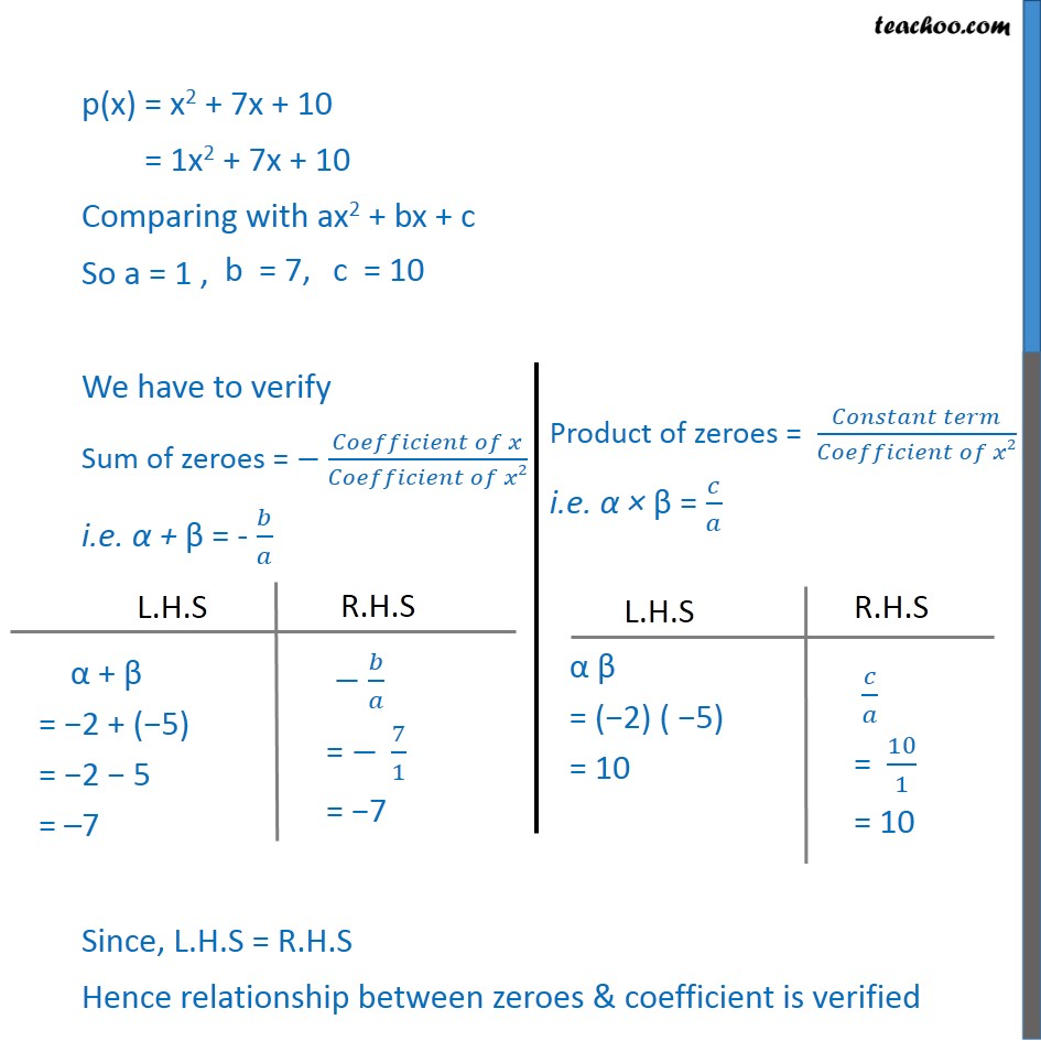 Example 2 - Chapter 2 Class 10 Polynomials - Part 2