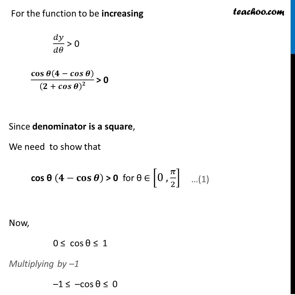 Ex 6.2,9 - Chapter 6 Class 12 Application of Derivatives - Part 4