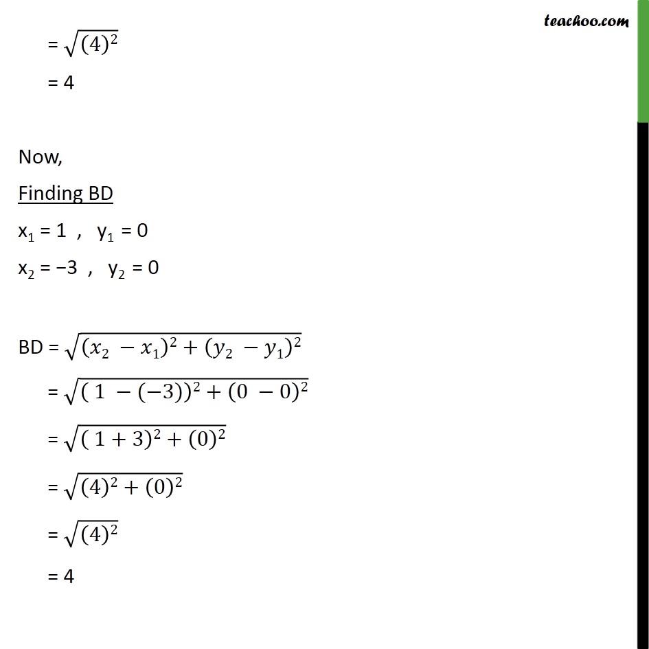 Ex 7.1, 6 - Chapter 7 Class 10 Coordinate Geometry - Part 7