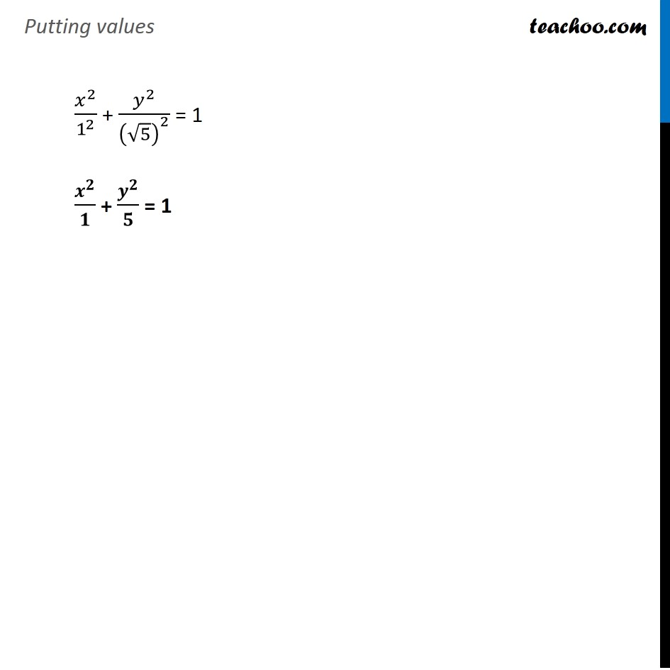 Ex 11.3,  14 - Chapter 11 Class 11 Conic Sections - Part 3