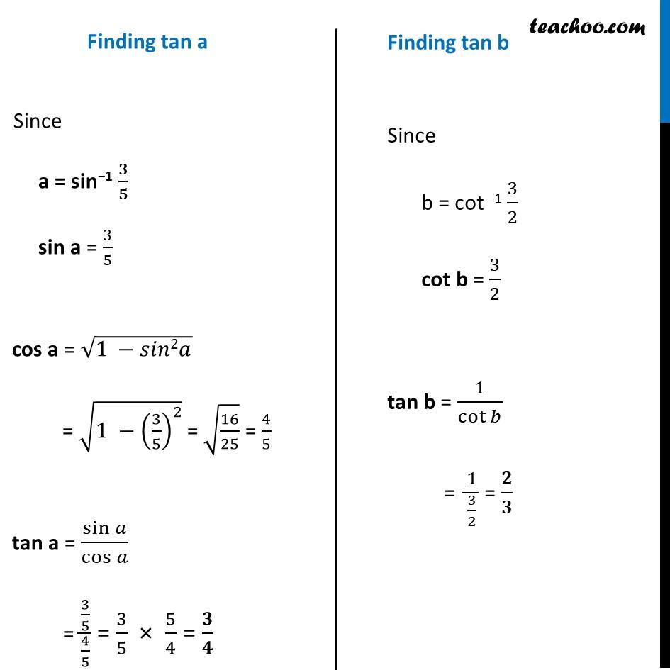 Ex 2.2, 18 - Chapter 2 Class 12 Inverse Trigonometric Functions - Part 2