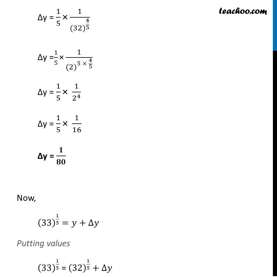 Misc 1 - Chapter 6 Class 12 Application of Derivatives - Part 7