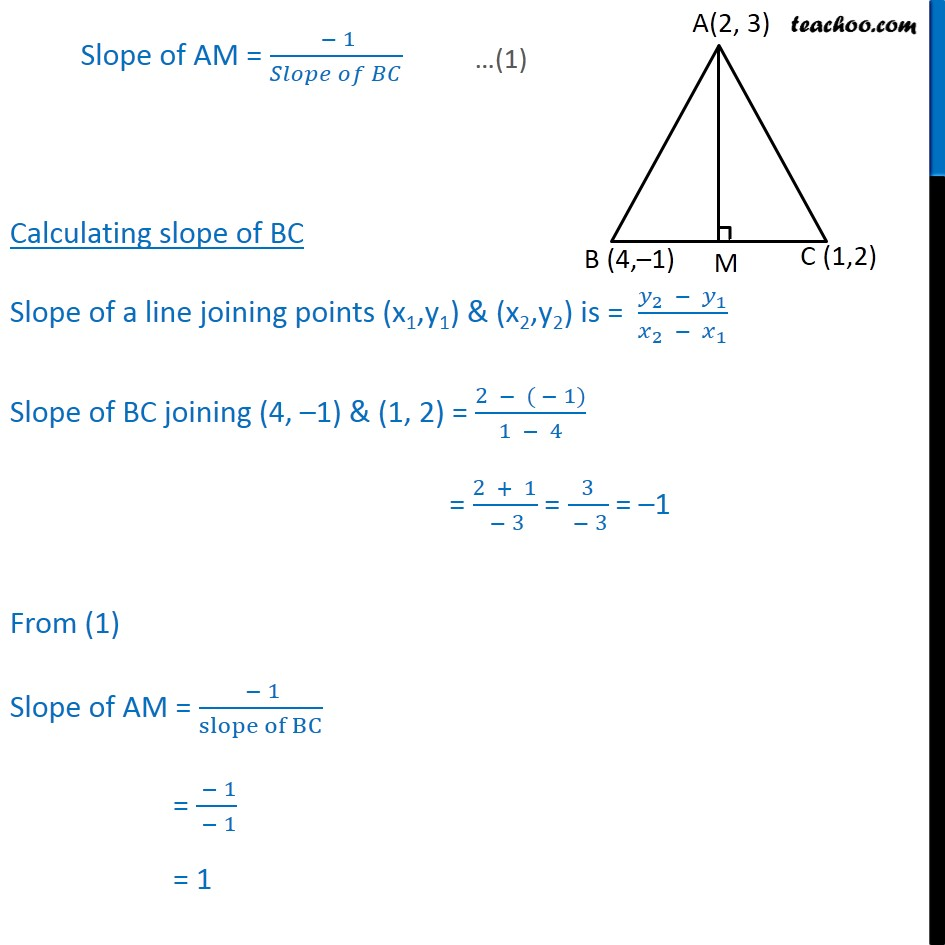 Ex 103 17 In Abc Vertices A 2 3 B 4 1 C Diagram 6 Orthocentre Point Generation Last Updated At May 29 2018 By Teachoo