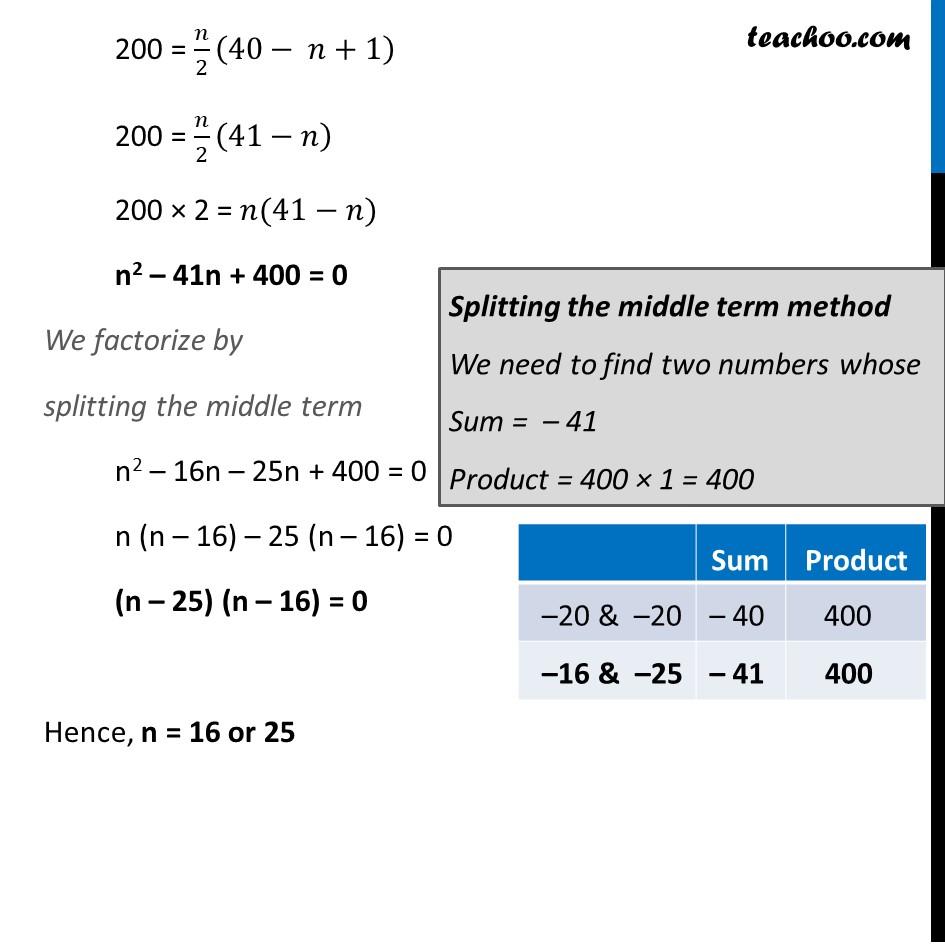 Ex 5.3, 19 - Chapter 5 Class 10 Arithmetic Progressions - Part 3