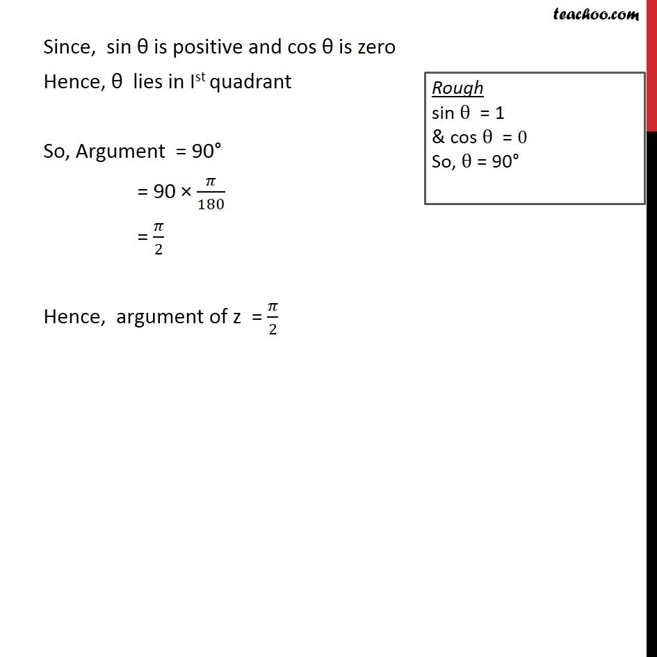 Example 13  - Chapter 5 Class 11 Complex Numbers - Part 7