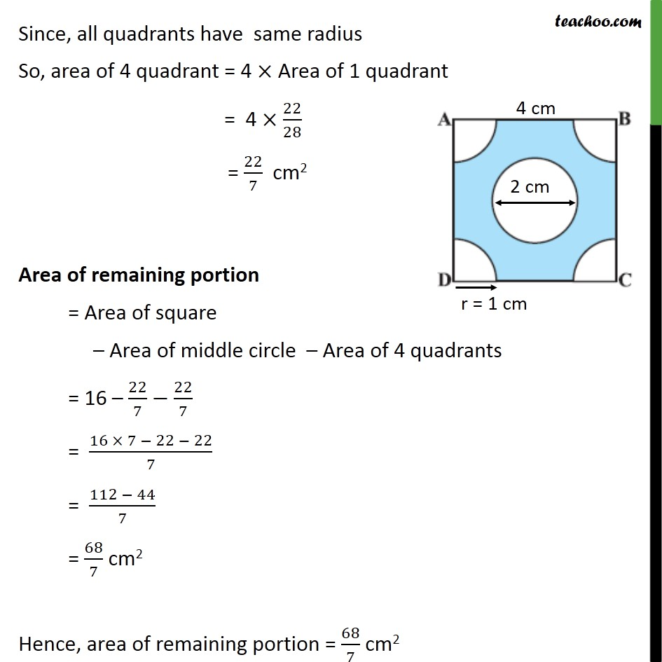 Ex 12.3, 5 - Chapter 12 Class 10 Areas related to Circles - Part 3