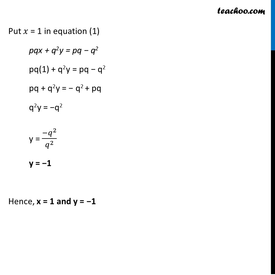 Ex 3.7, 7 (Optional) - Chapter 3 Class 10 Pair of Linear Equations in Two Variables - Part 4
