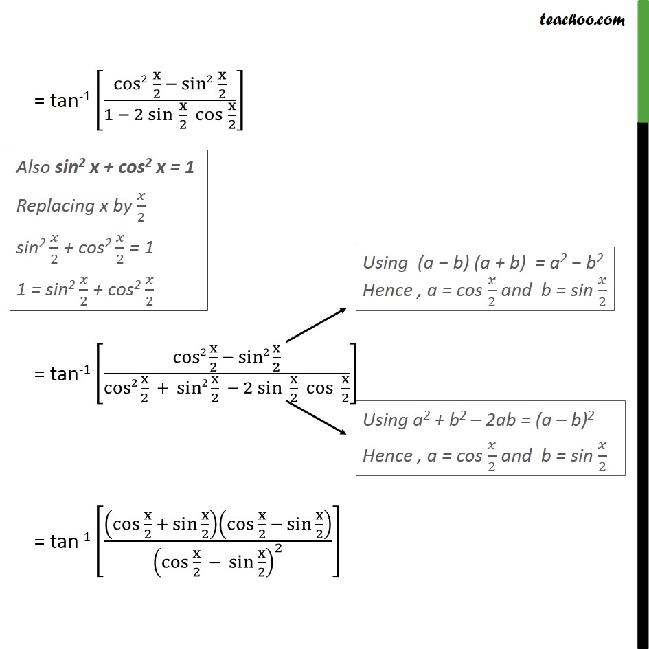 Example 5 - Chapter 2 Class 12 Inverse Trigonometric Functions - Slide 2
