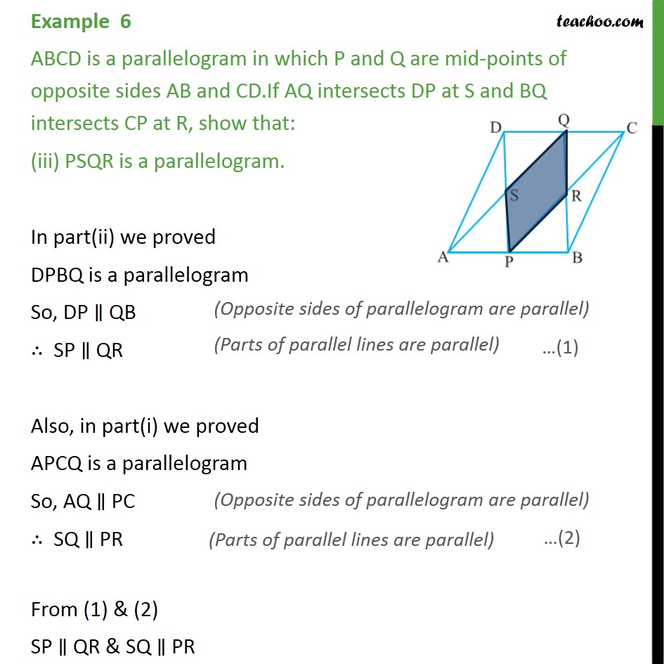 Example 6 - Chapter 8 Class 9 Quadrilaterals - Part 4