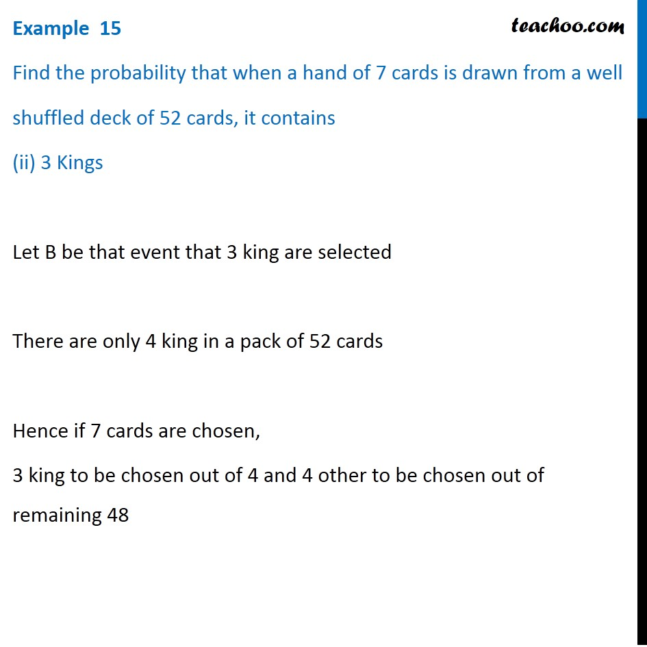 Example  15 - Chapter 16 Class 11 Probability - Part 3