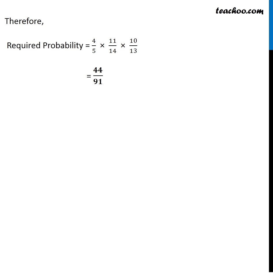 Ex 13.2, 3 - Chapter 13 Class 12 Probability - Part 4