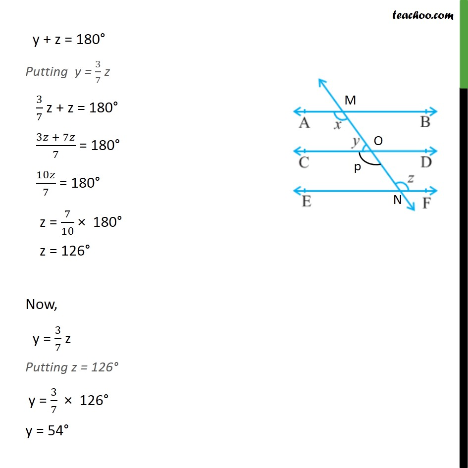 Ex 6.2, 2 - Chapter 6 Class 9 Lines and Angles - Part 2