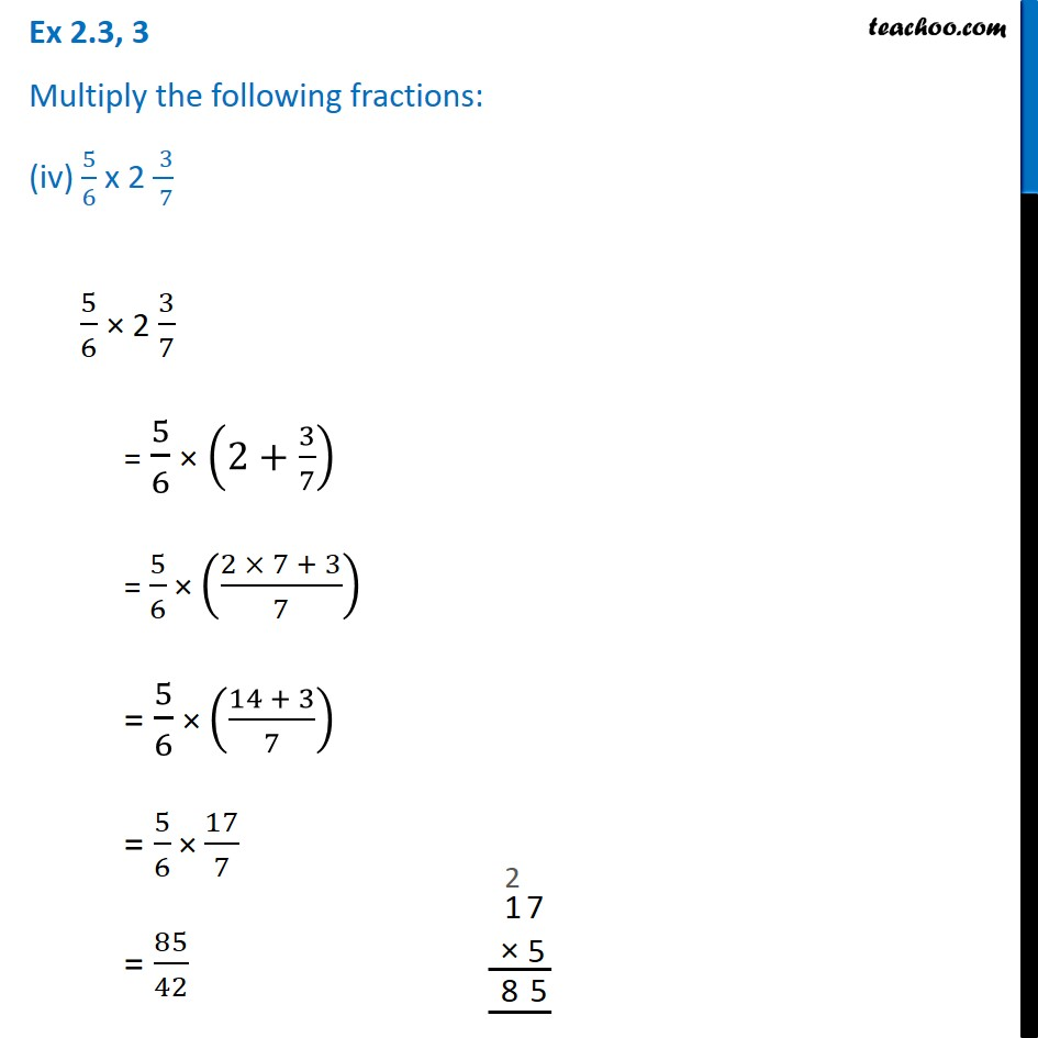 Ex 2.3, 3 - Chapter 2 Class 7 Fractions and Decimals - Part 6