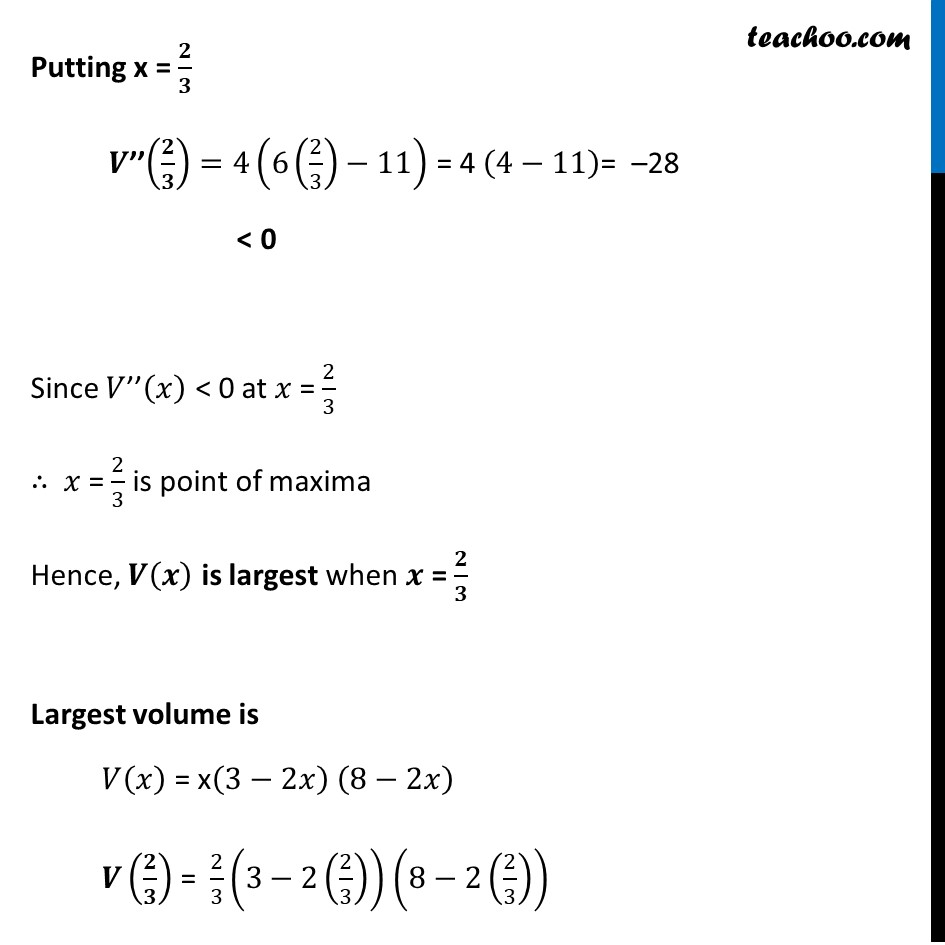 Example 50 - Chapter 6 Class 12 Application of Derivatives - Part 5