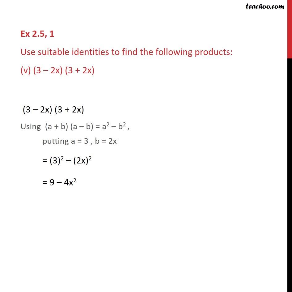 Ex 2.5, 1 - Chapter 2 Class 9 Polynomials - Part 5