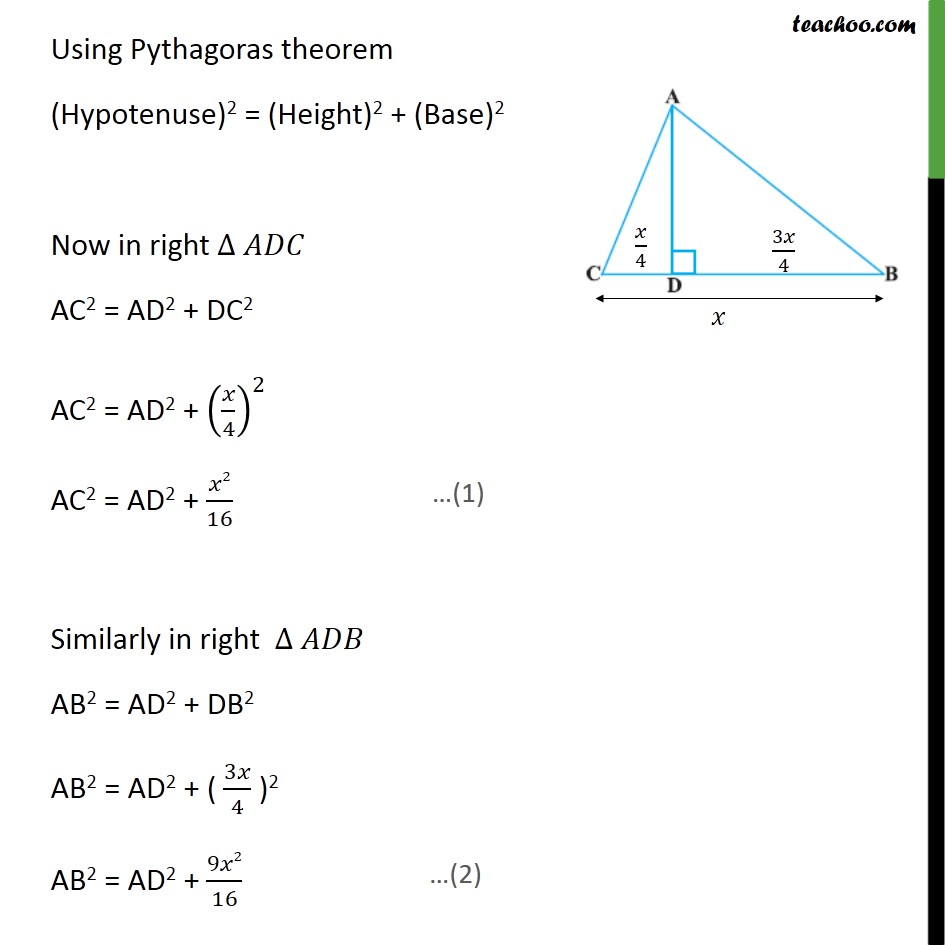 Ex 6.5, 14 - Chapter 6 Class 10 Triangles - Part 2