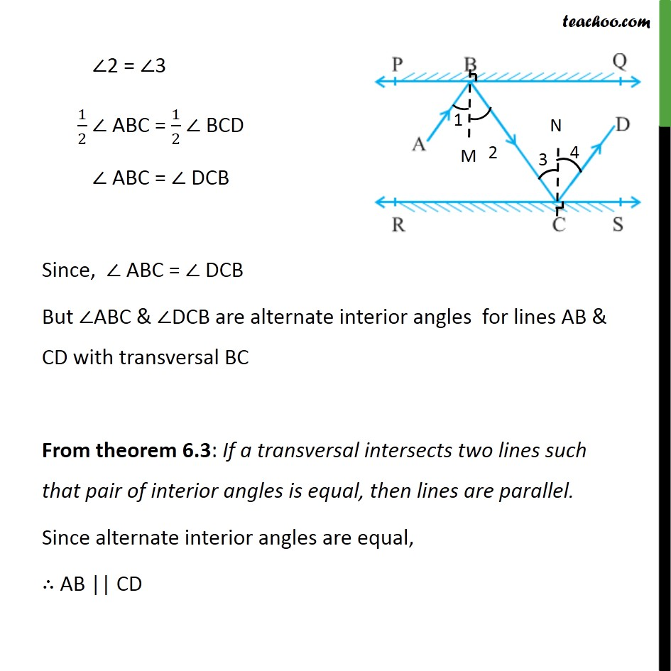 Ex 6.2,6 - Chapter 6 Class 9 Lines and Angles - Part 3