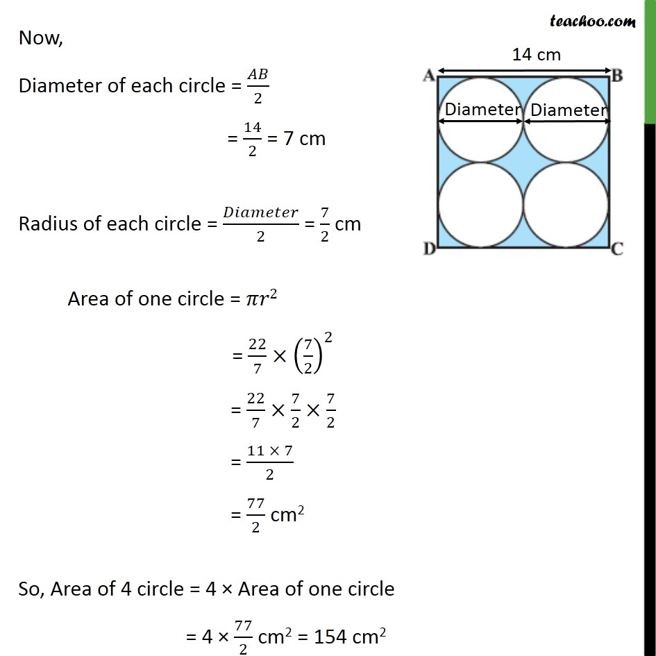 Example 5 - Chapter 12 Class 10 Areas related to Circles - Part 2