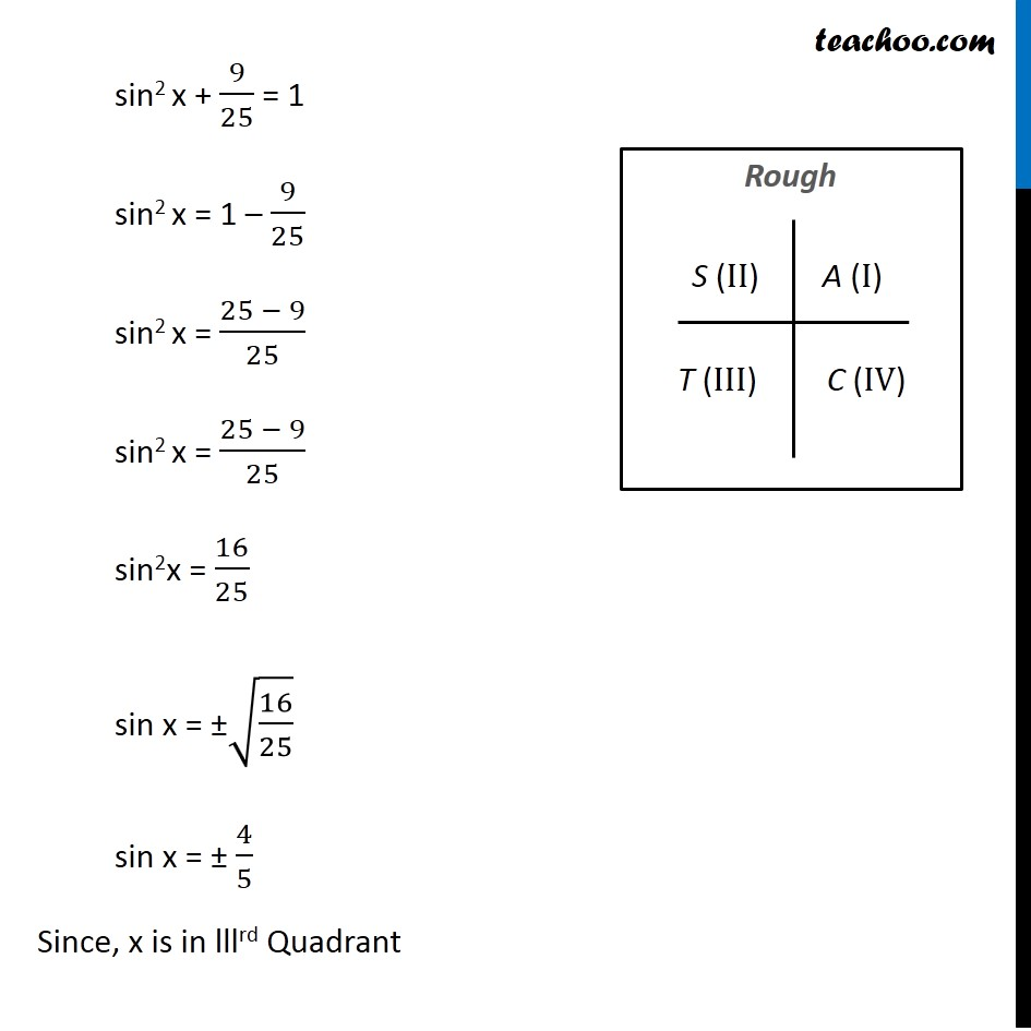Example 6 - Chapter 3 Class 11 Trigonometric Functions - Part 2