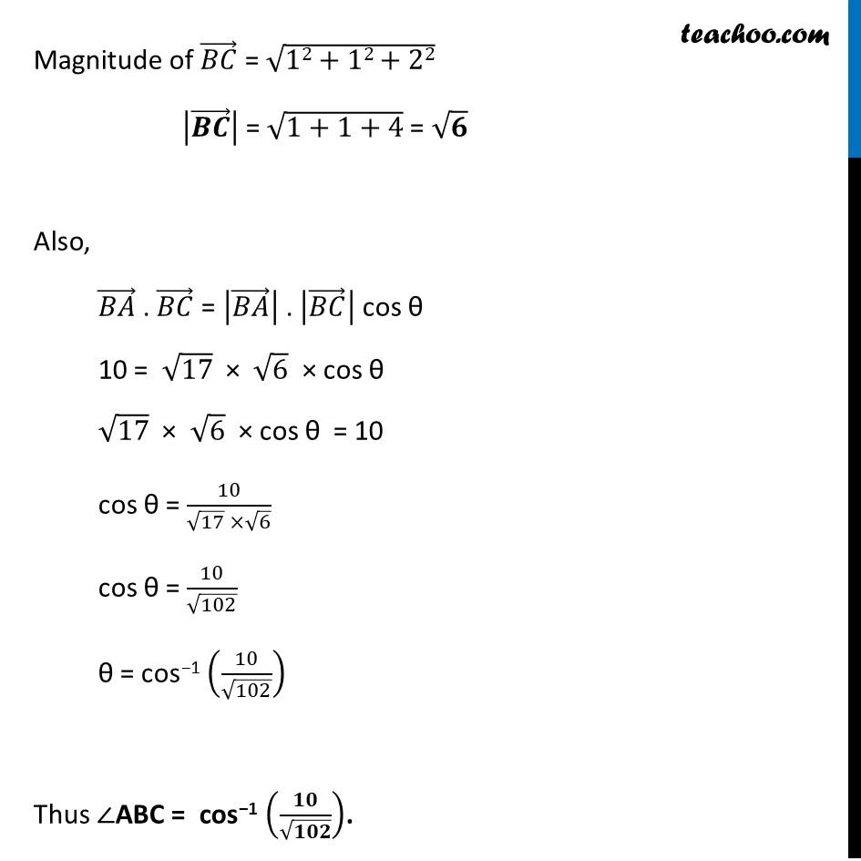 Ex 10.3, 15 - Chapter 10 Class 12 Vector Algebra - Part 4