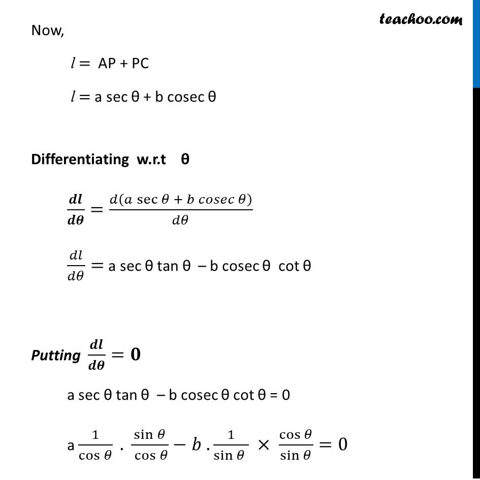 Misc 12 - Chapter 6 Class 12 Application of Derivatives - Part 3
