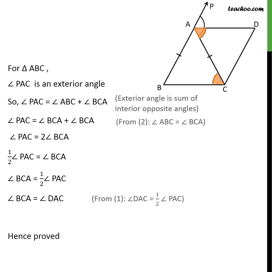 Example 3 - Chapter 8 Class 9 Quadrilaterals - Part 2