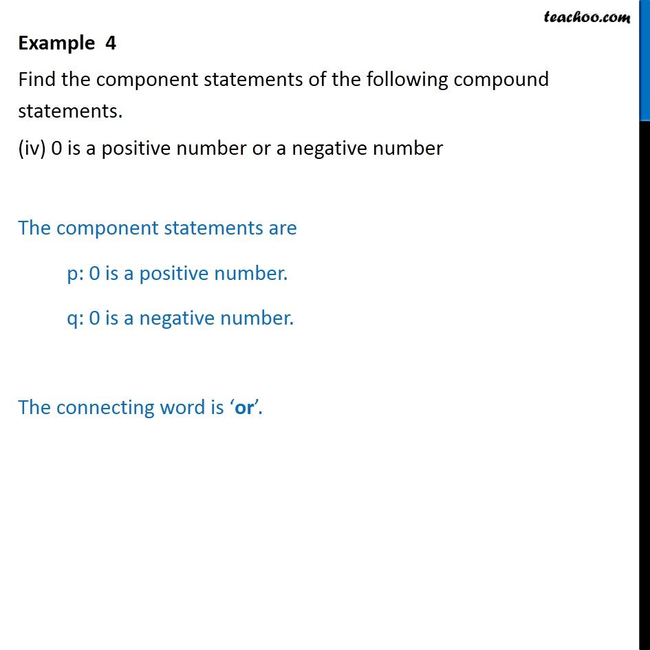 Example 4 - Chapter 14 Class 11 Mathematical Reasoning - Part 4