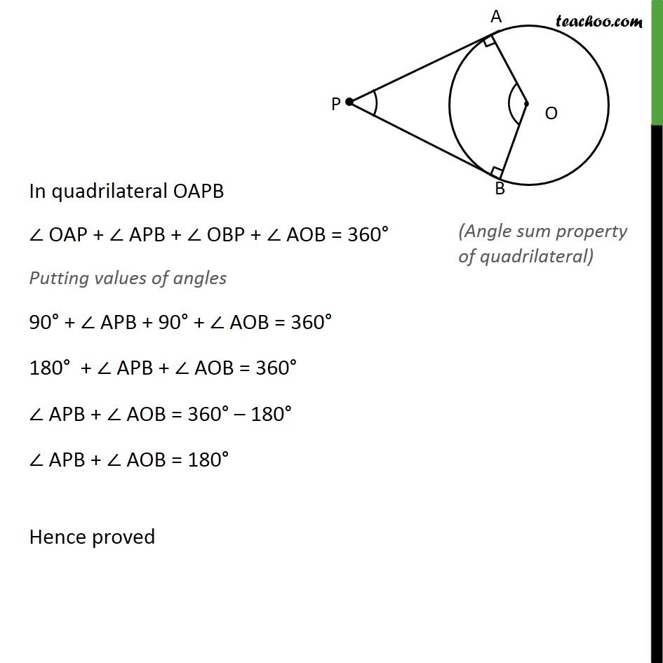Ex 10.2, 10 - Chapter 10 Class 10 Circles - Part 2