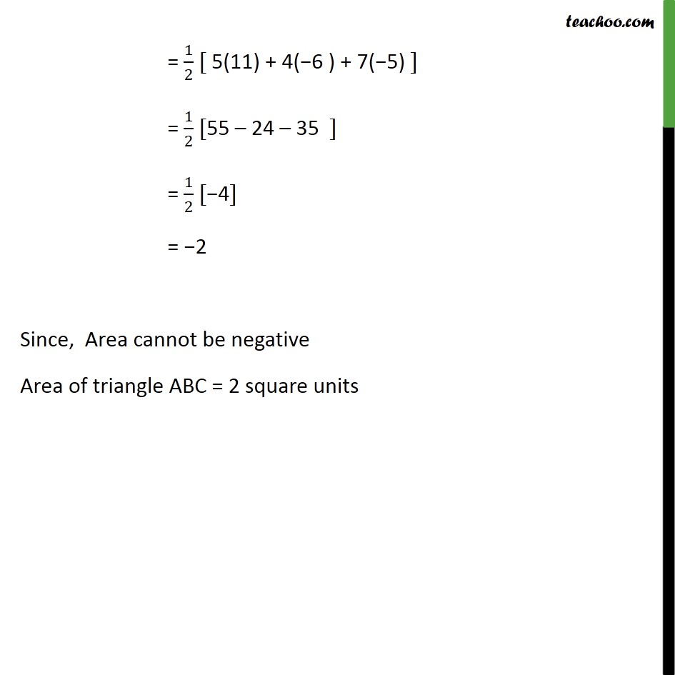 Example 12 - Chapter 7 Class 10 Coordinate Geometry - Part 2