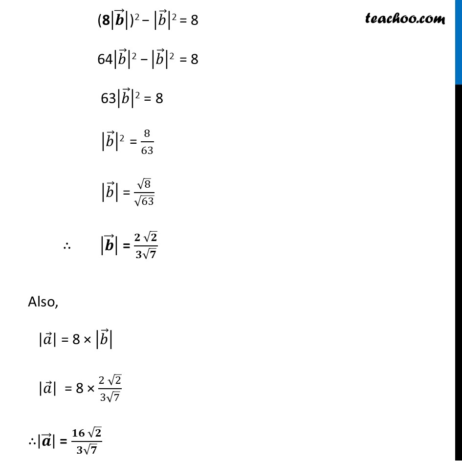 Ex 10.3, 6 - Chapter 10 Class 12 Vector Algebra - Part 2