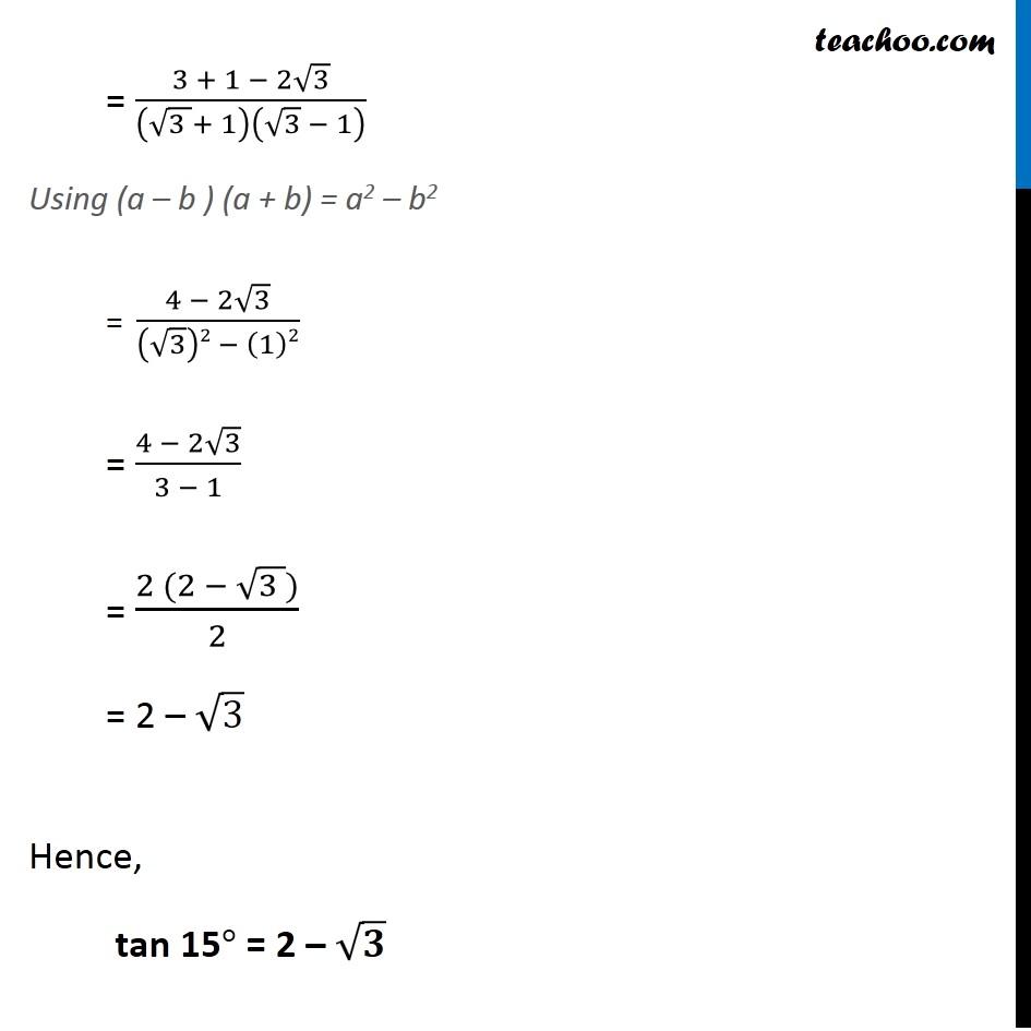 Ex 3.3, 5 - Chapter 3 Class 11 Trigonometric Functions - Part 4