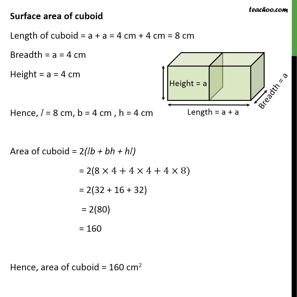 Ex 13.1, 1 - Chapter 13 Class 10 Surface Areas and Volumes - Part 2