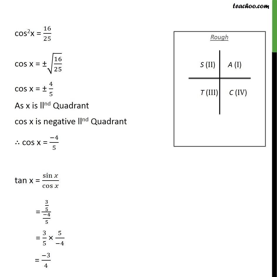 Ex 3.2, 2 - Chapter 3 Class 11 Trigonometric Functions - Part 2