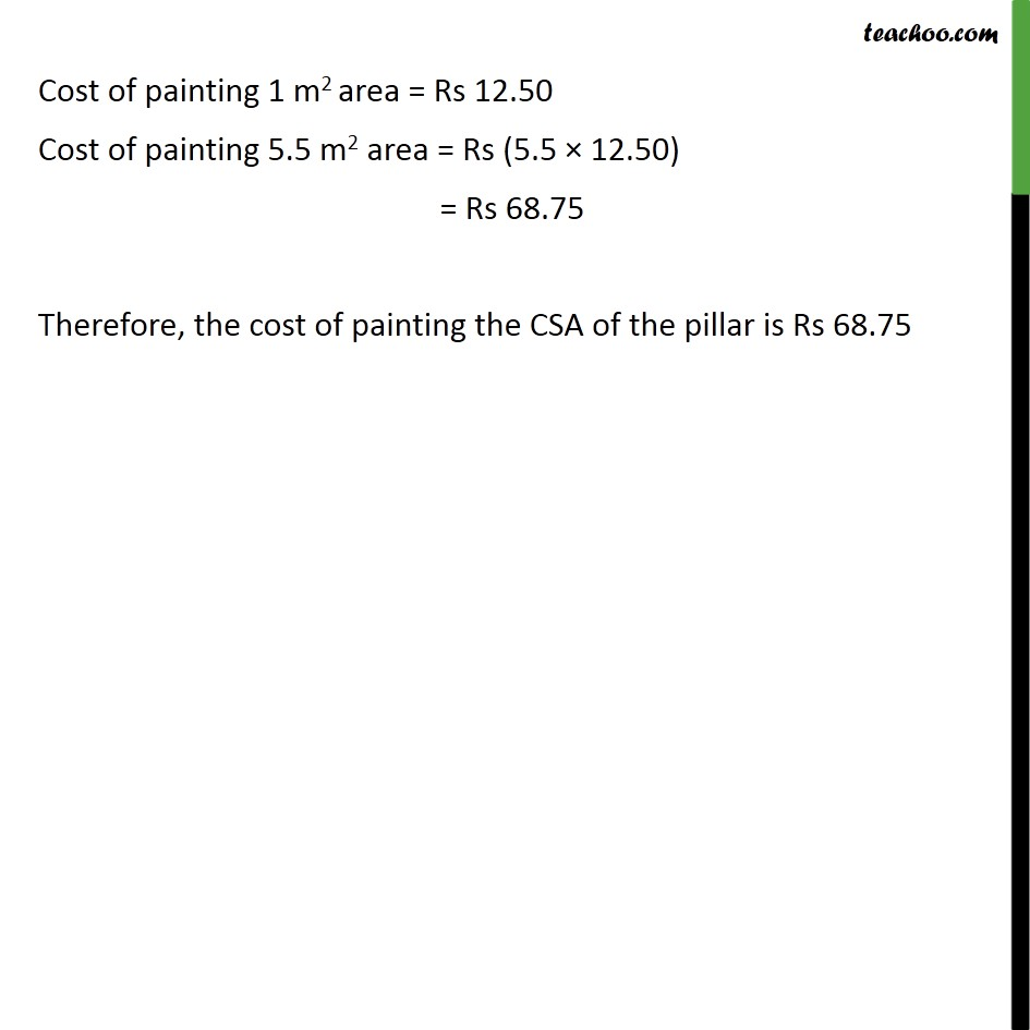 Ex 13.2, 5 - Chapter 13 Class 9 Surface Areas and Volumes - Part 2