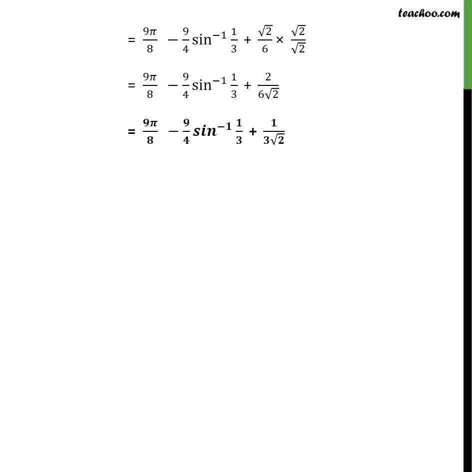 Misc 15 - Chapter 8 Class 12 Application of Integrals - Part 10