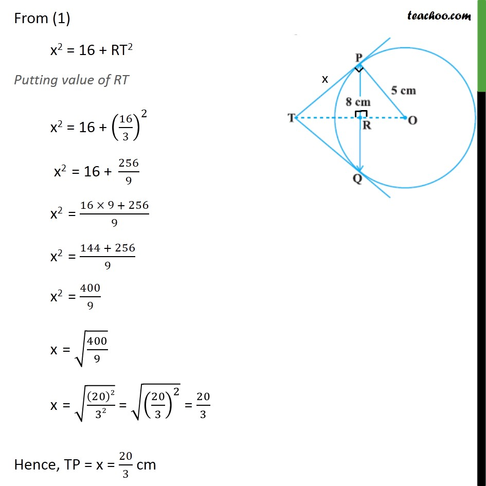 Example 3 - Chapter 10 Class 10 Circles - Part 5