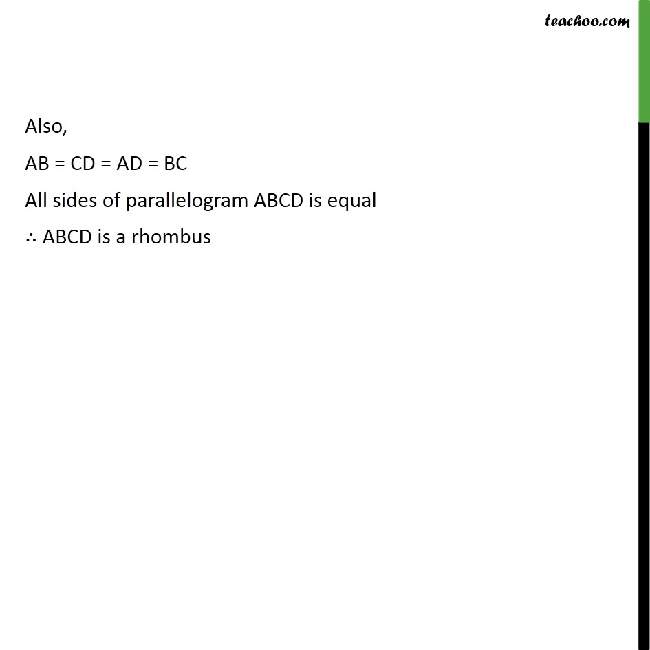 Ex 8.1, 3 - Chapter 8 Class 9 Quadrilaterals - Part 6
