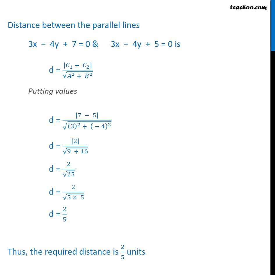 Example 19 - Chapter 10 Class 11 Straight Lines - Part 2