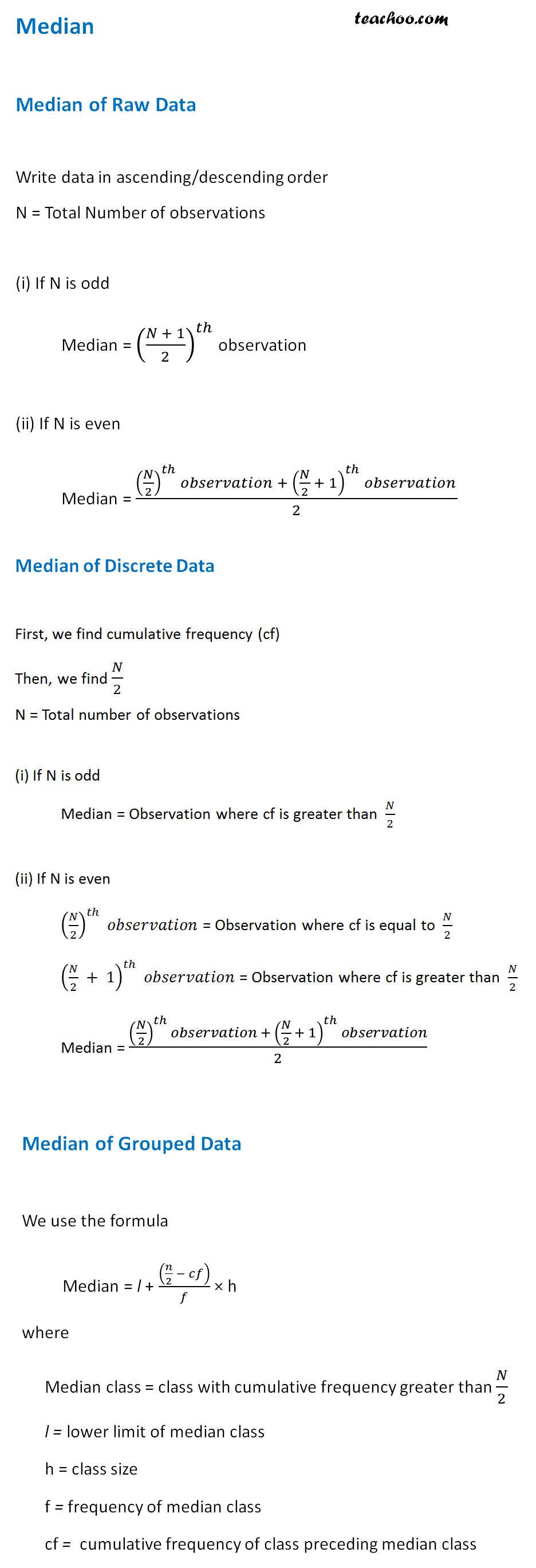 Median of Raw, Discrete and Grouped Data.jpg
