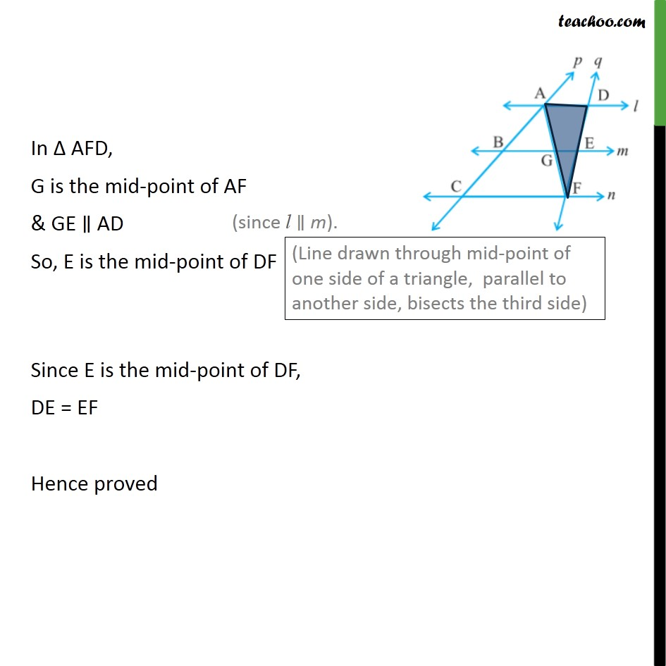 Example 8 - Chapter 8 Class 9 Quadrilaterals - Part 2