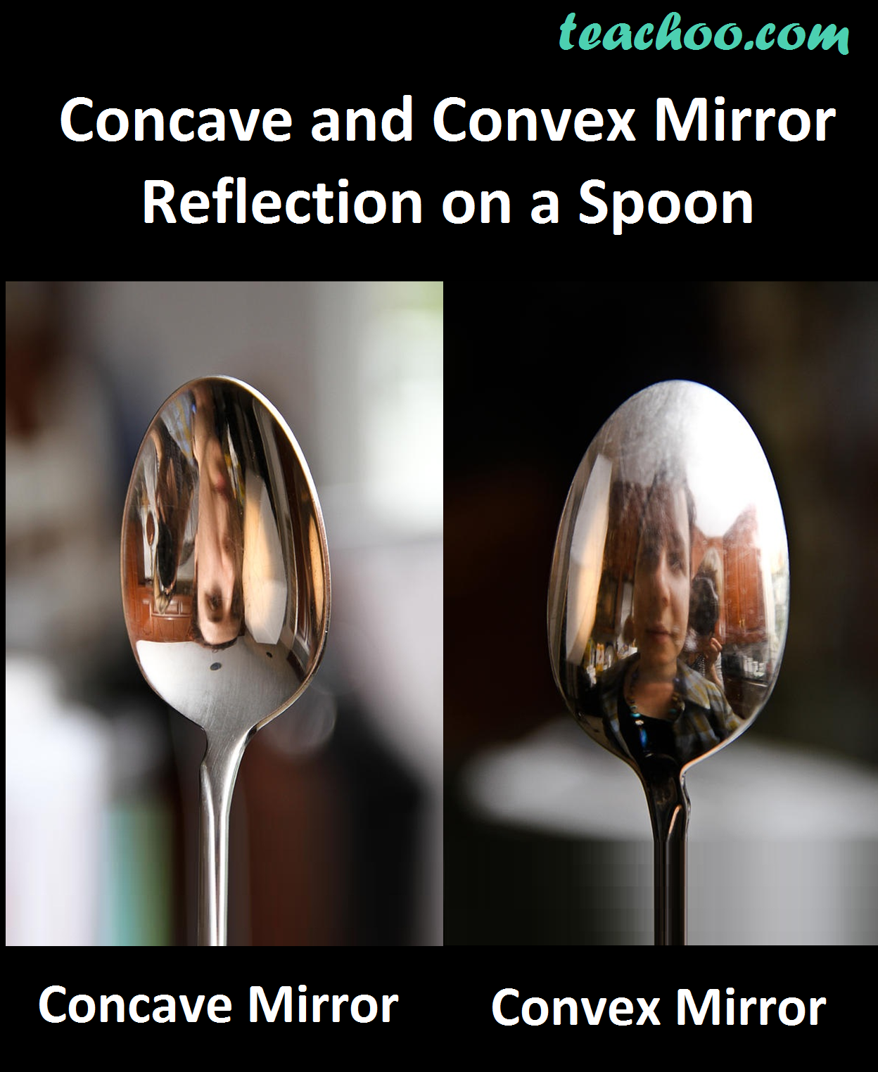 Concave and Convex Reflection on a Spoon - Teachoo.png