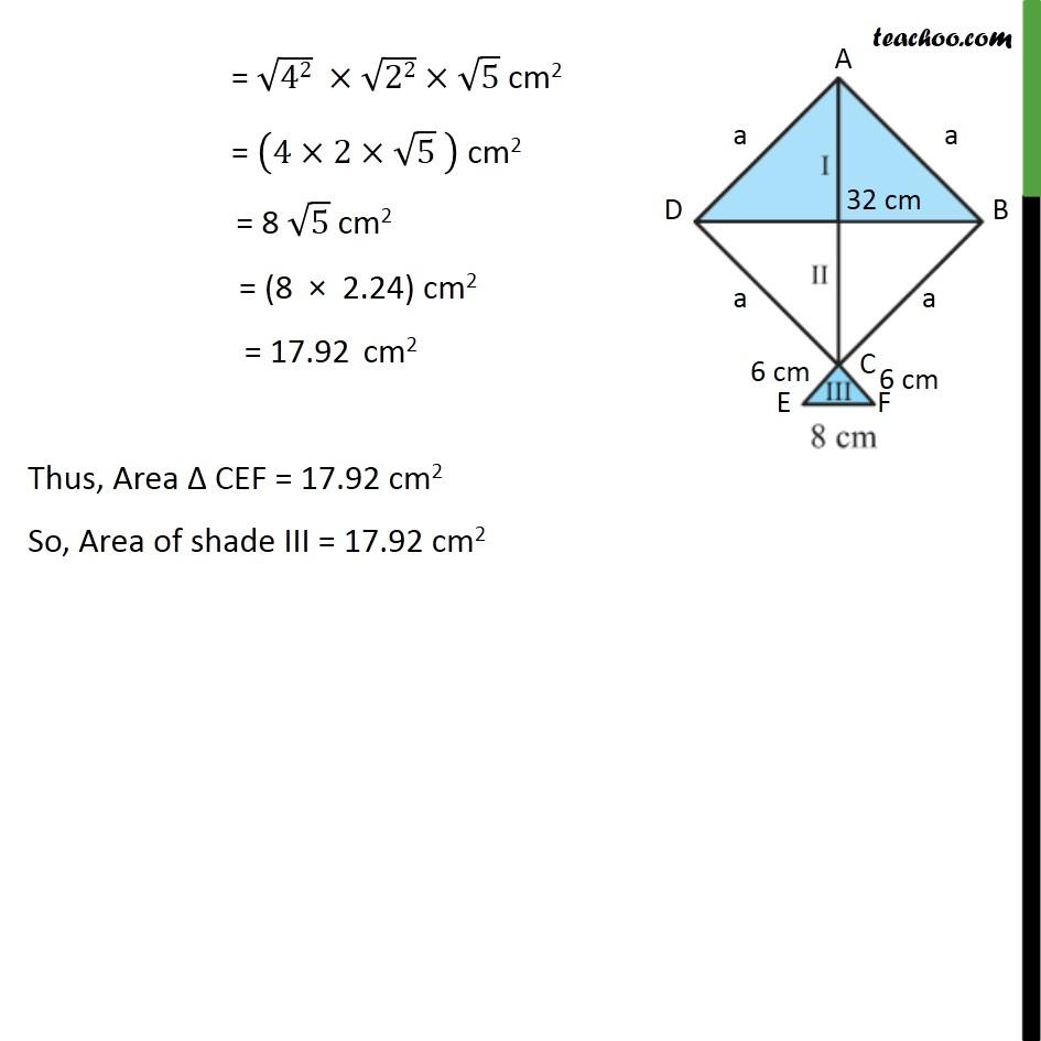Ex 12.2, 7 - Chapter 12 Class 9 Herons Formula - Part 5