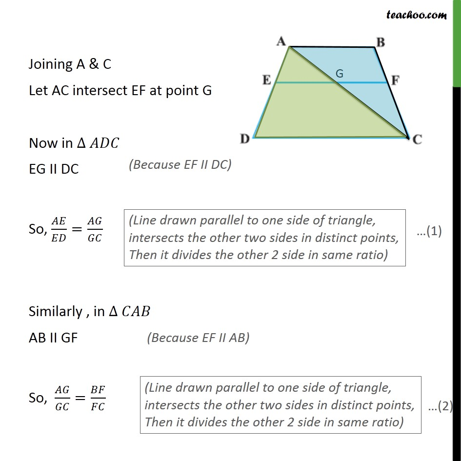 Example 2 - Chapter 6 Class 10 Triangles - Part 2