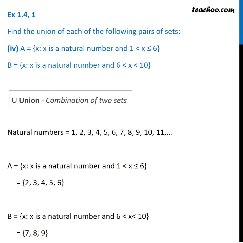 Ex 1.4, 1 - Chapter 1 Class 11 Sets - Part 5