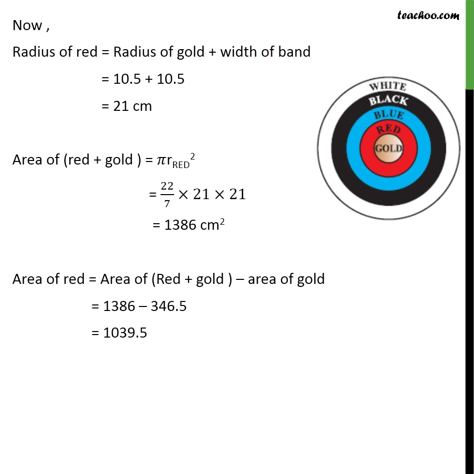 Ex 12.1, 3 - Chapter 12 Class 10 Areas related to Circles - Part 2
