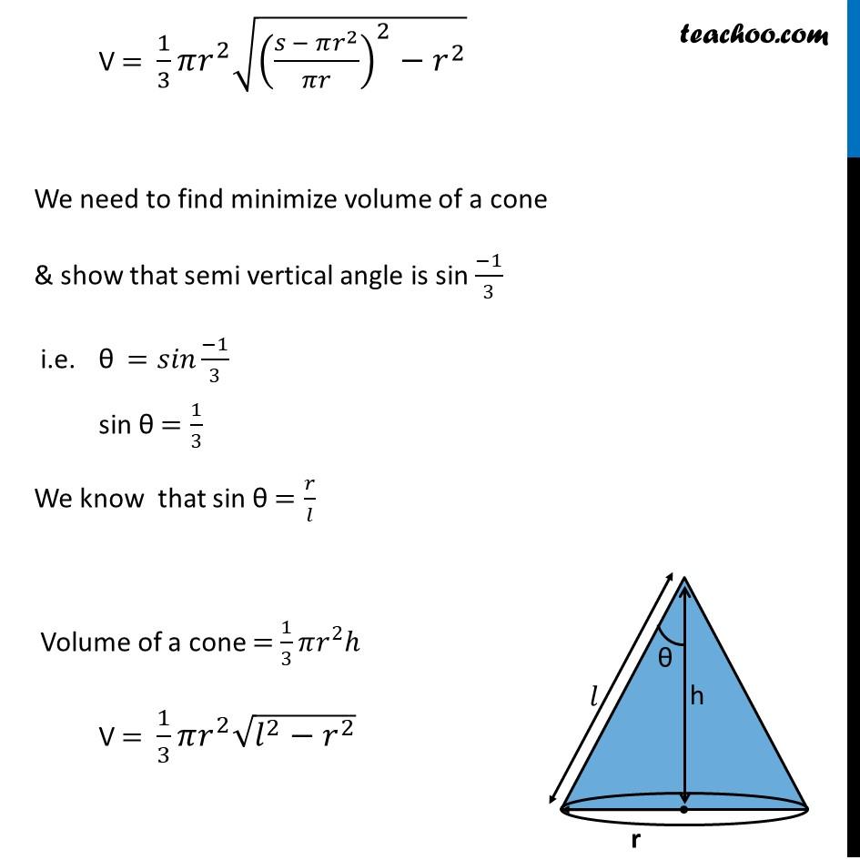 Ex 6.5,26 - Chapter 6 Class 12 Application of Derivatives - Part 3